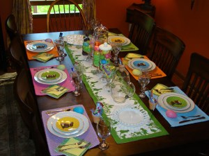 easter table scape 2